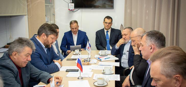 Заседание Ученого совета НИЦ «Безопасность»